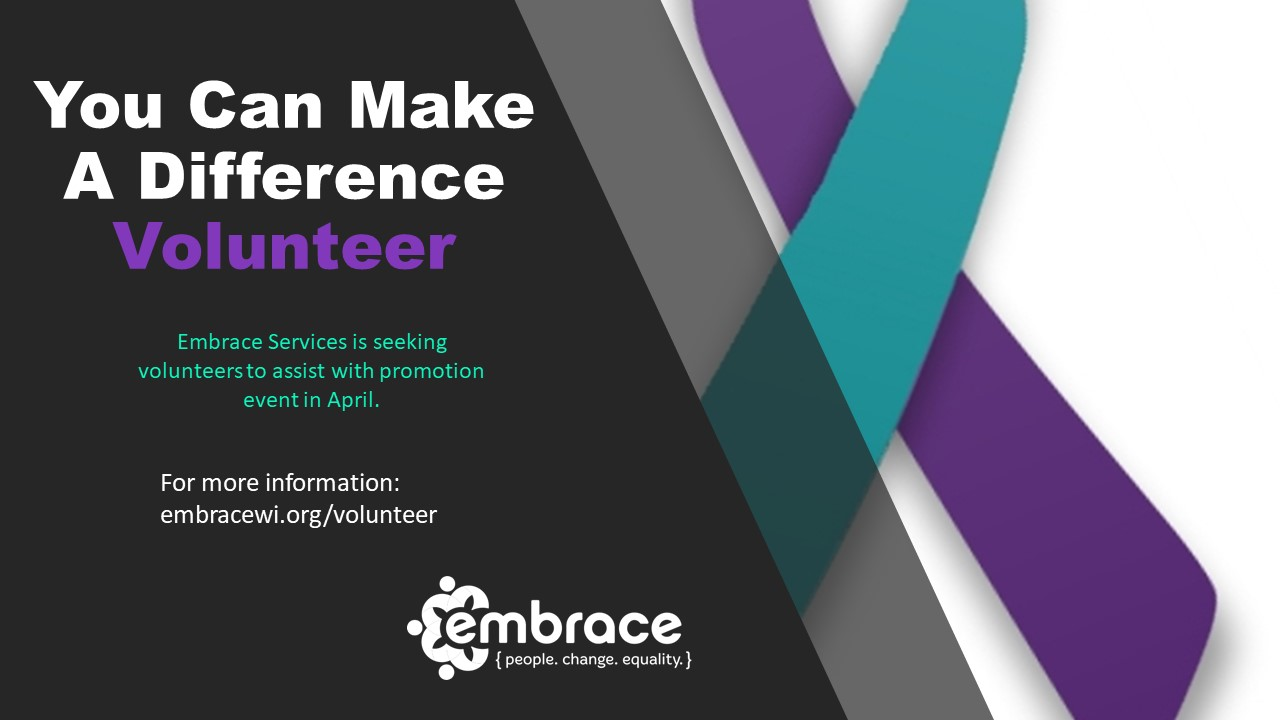 Volunteers April website image